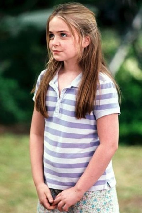 "Saltó a la fama por interpretar a la niña exploradora ""Lulu Plummer"", en la película ""Niñera a Prueba de Balas"" junto a Vin Diesel. Foto:IMDB"