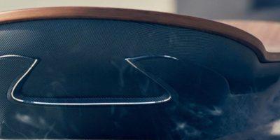 Al parecer por el momento solo funciona sobre superficies metálicas. Foto:Lexus International