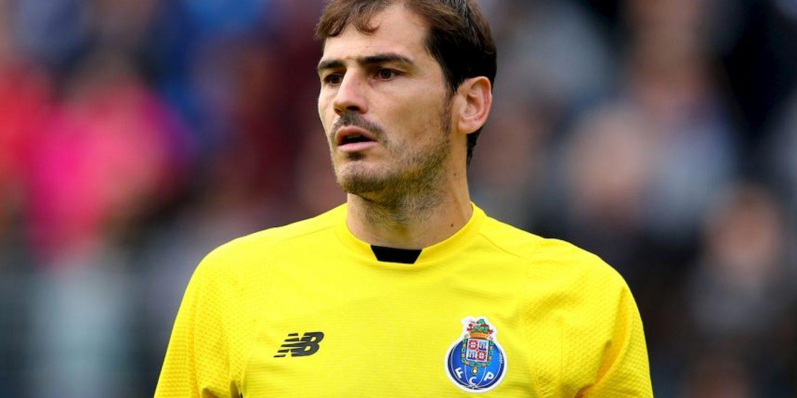 El ídolo del Real Madrid fichó por el Porto de la Primeira Liga portuguesa. Foto:Getty Images