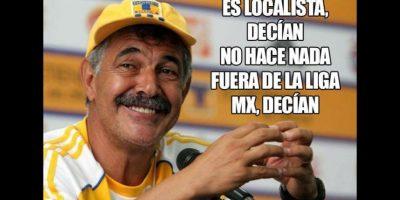 Y el reconocimiento a Ricardo Ferretti por llevar a Tigres a la final. Foto:Vía twitter.com