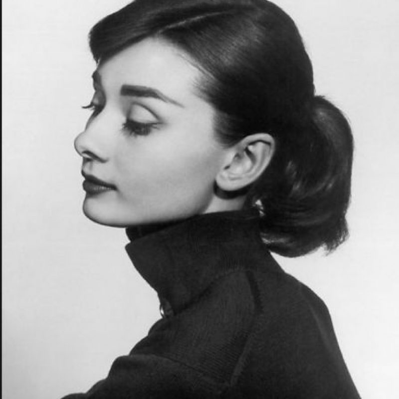 Y Audrey Hepburn. Foto: vía Getty Images