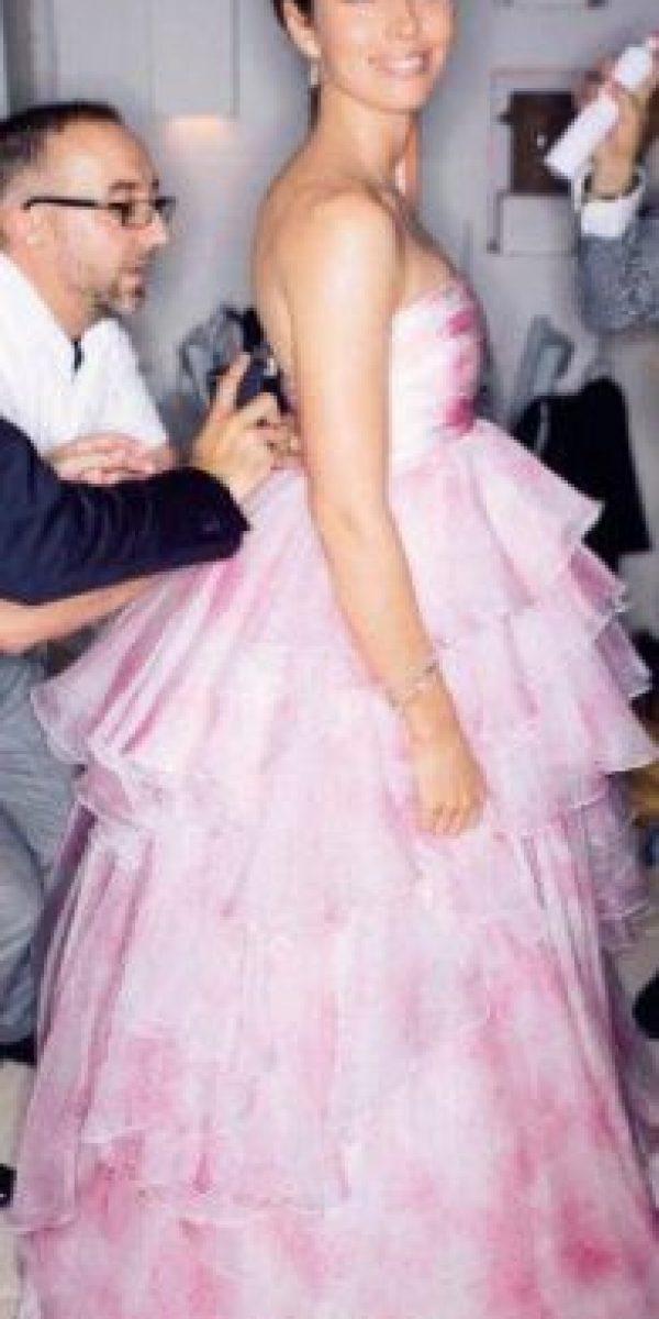 Un vestido de 15 años para Jessica Biel. Foto:vía People