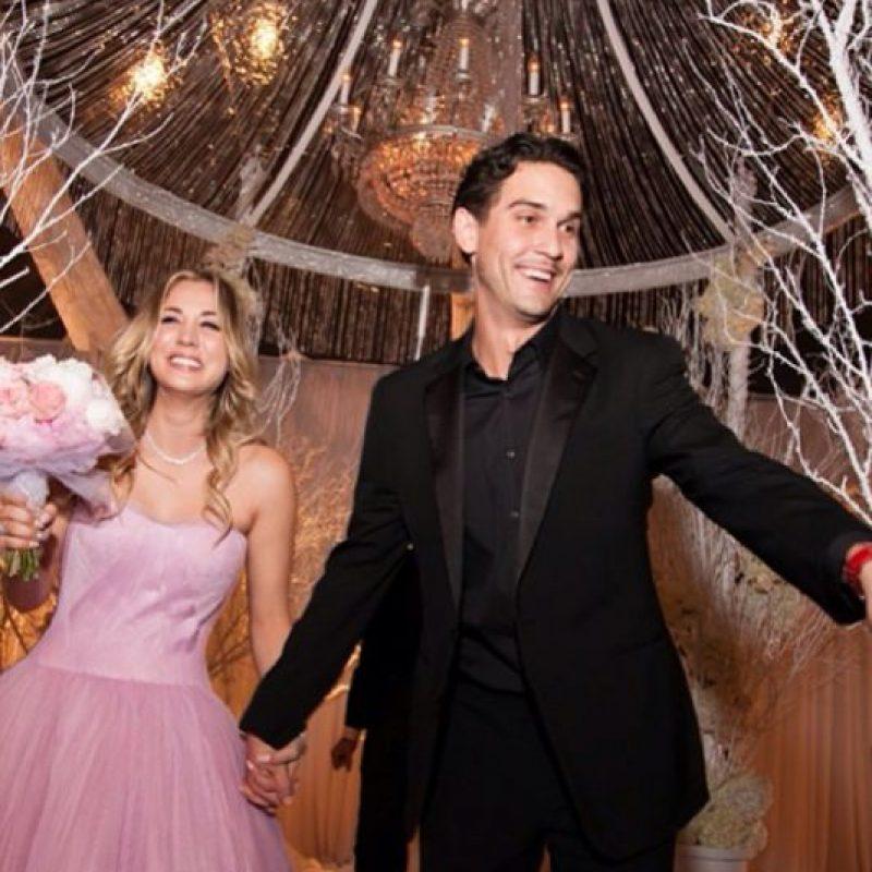 Bellísima lució en su prom. Foto:vía Instagram/kaleycuoco