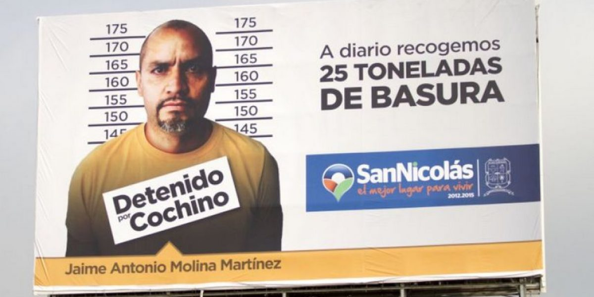 En este país avergüenzan a quienes tiren basura con su foto en anuncios gigantes