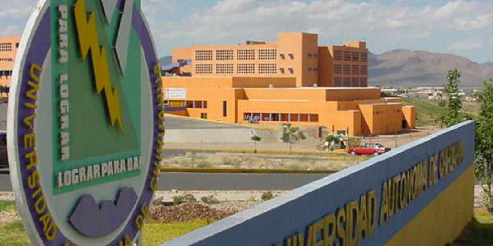 """""""UACH"""", esta es la Universidad Autónoma de Chihuahua. Foto:vía uach.mx"""