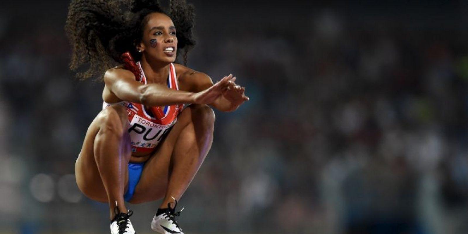 La puertorriqueña Carol Rodríguez en los Juegos Panamericanos 2015. Foto:AFP