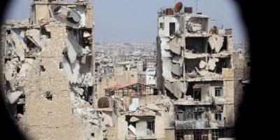 Ciudad de Alepo, en Siria. Foto:AFP