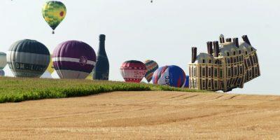 Festival de globos en Francia. Foto:AFP