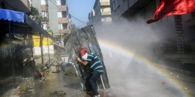Protesta en Siria Foto:AFP