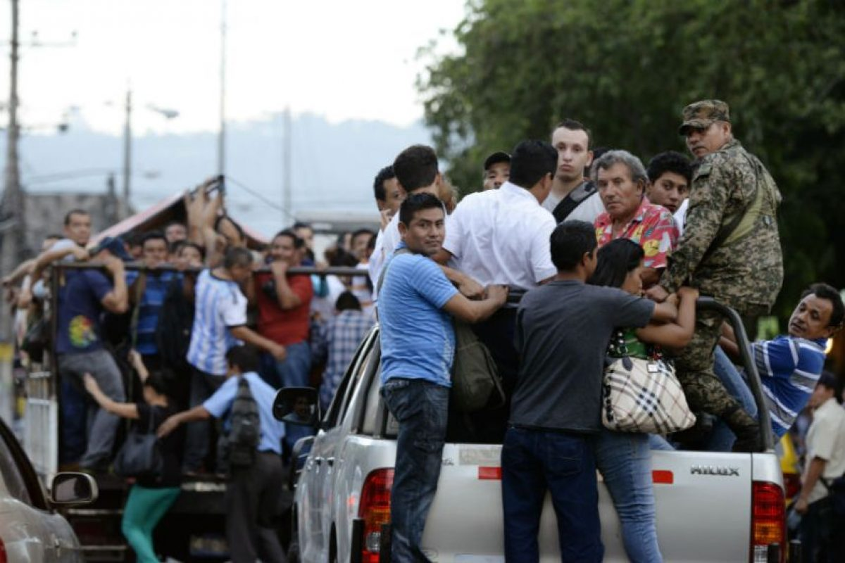 Las pandillas y los maras buscan negociaciones con el gobiernos. Foto:AFP