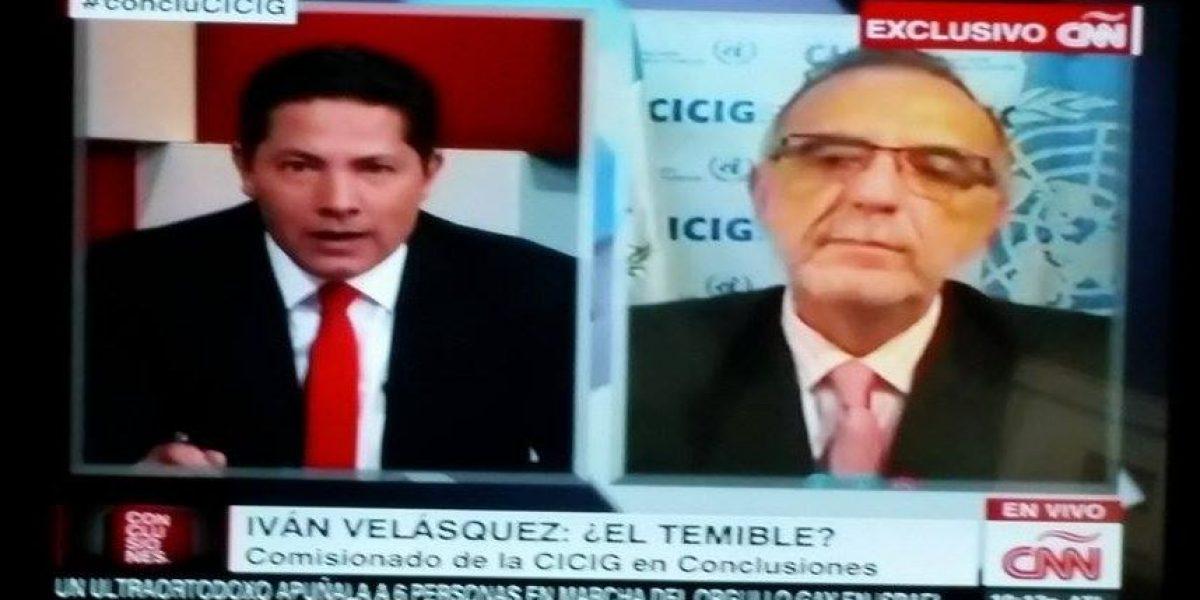 Iván Velásquez habla con Fernando del Rincón en Conclusiones @CNNEE