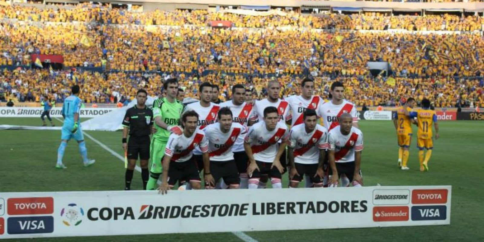 Y de la mano del francés Andre-Pierre Gignac y del brasileño Rafael Sobís, generaron peligro. Foto:Vía facebook.com/tigresoficial