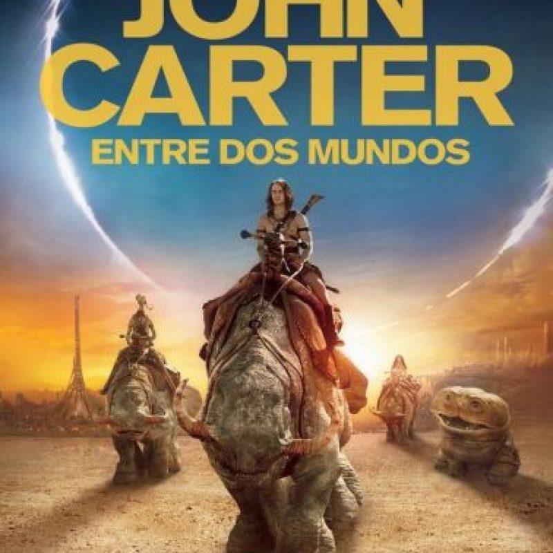 """John Carter: entre dos mundos"". Disponible a partir del 1 de agosto. Foto:Walt Disney Pictures"