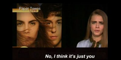 """""""O no… simplemente creo que eres tú"""". Foto:vía Youtube"""