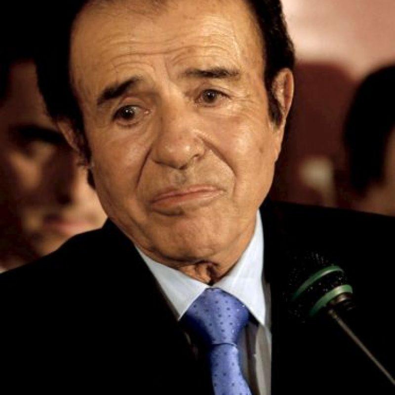 También fue gobernador de esta provincia de 1983 a 1989 Foto:Getty Images