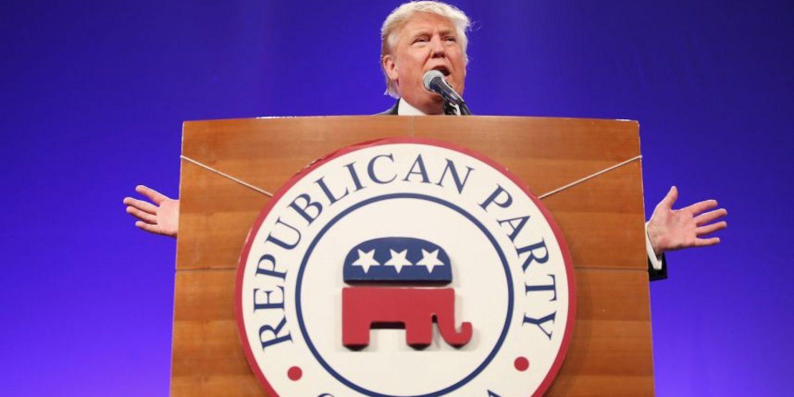 Una encuesta de la Universidad de Quinnipiac en Connecticut, Estados Unidos, reveló que el precandidato a la presidencia Donald Trump es el más amado y el más odiado entre los republicanos. Foto:Getty Images
