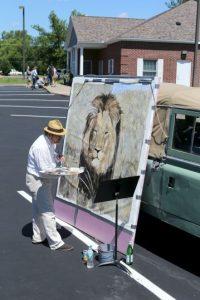 Se han hecho pinturas del león Foto:Getty Images