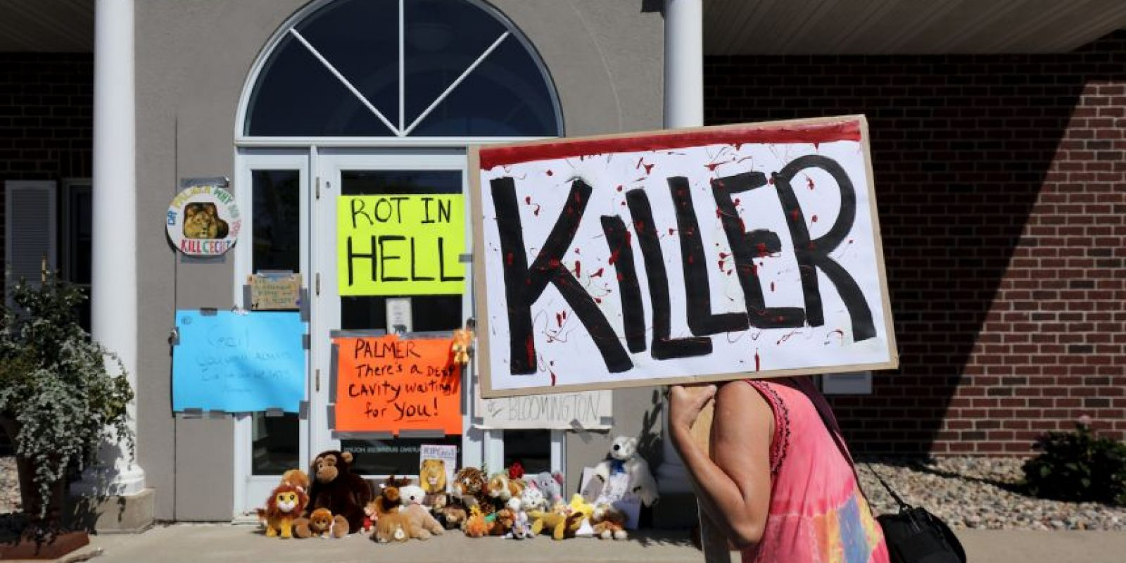 "Se le llama ""asesino"" a Palmer Foto:Getty Images"