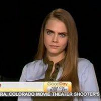 """A Cara la acusaron de """"grosera"""" en la entrevista. Foto:vía Youtube"""