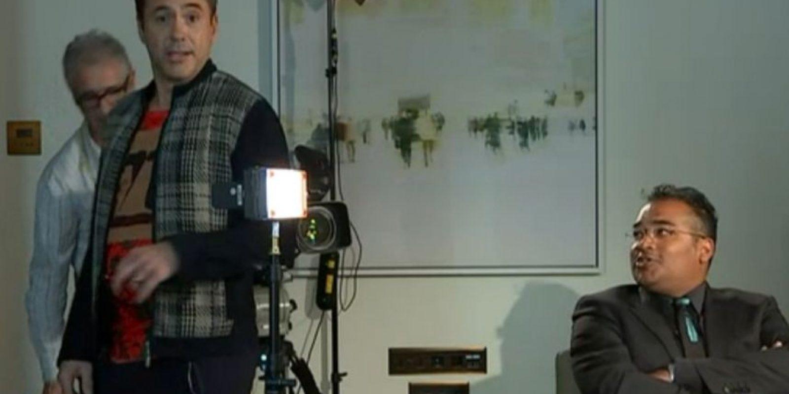 1. Robert Downey Jr. quiere dejar atrás su vida personal tumultuosa. Foto:vía Channel 4