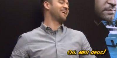 3. Sabrina Sato, en Brasil, le dio una estrella de goma del molde de su trasero a Justin Timberlake. Foto:vía Youtube