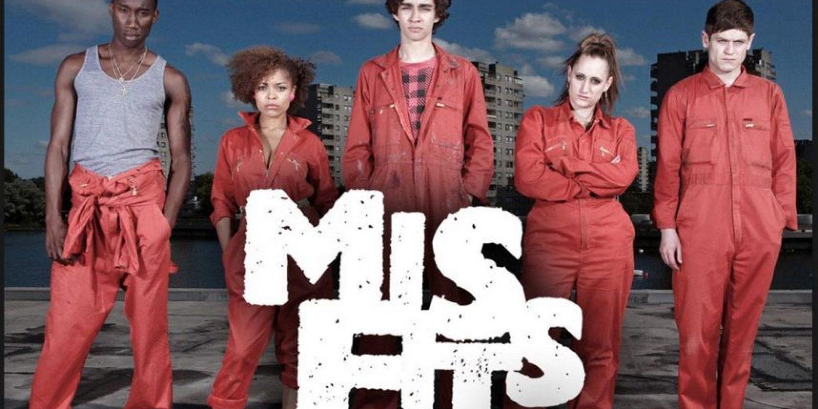 Esta serie de ciencia ficción británica trata sobre jóvenes que cumplen condenas comunitarias por crímenes menores, de pronto un día despiertan con superpoderes Foto:E4 / Channel 4