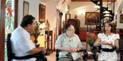 En una entrevista en 2014 Foto:Roberto Gómez Bolaños/Facebook
