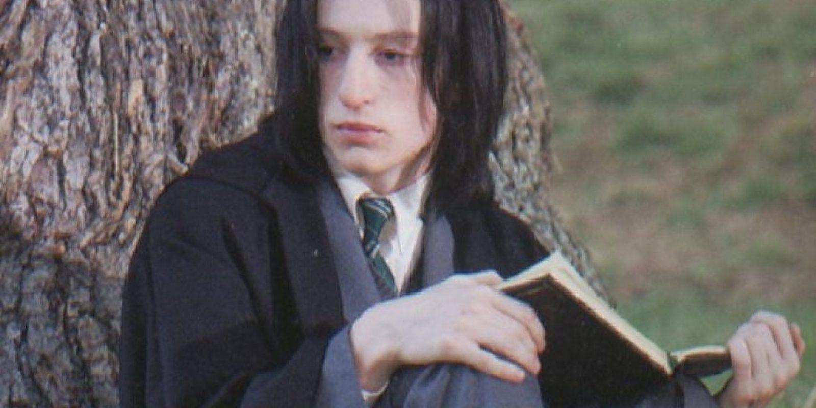 """Interpretó al joven """"Severus Snape"""" Foto:vía twitter.com/alecmhopkins"""