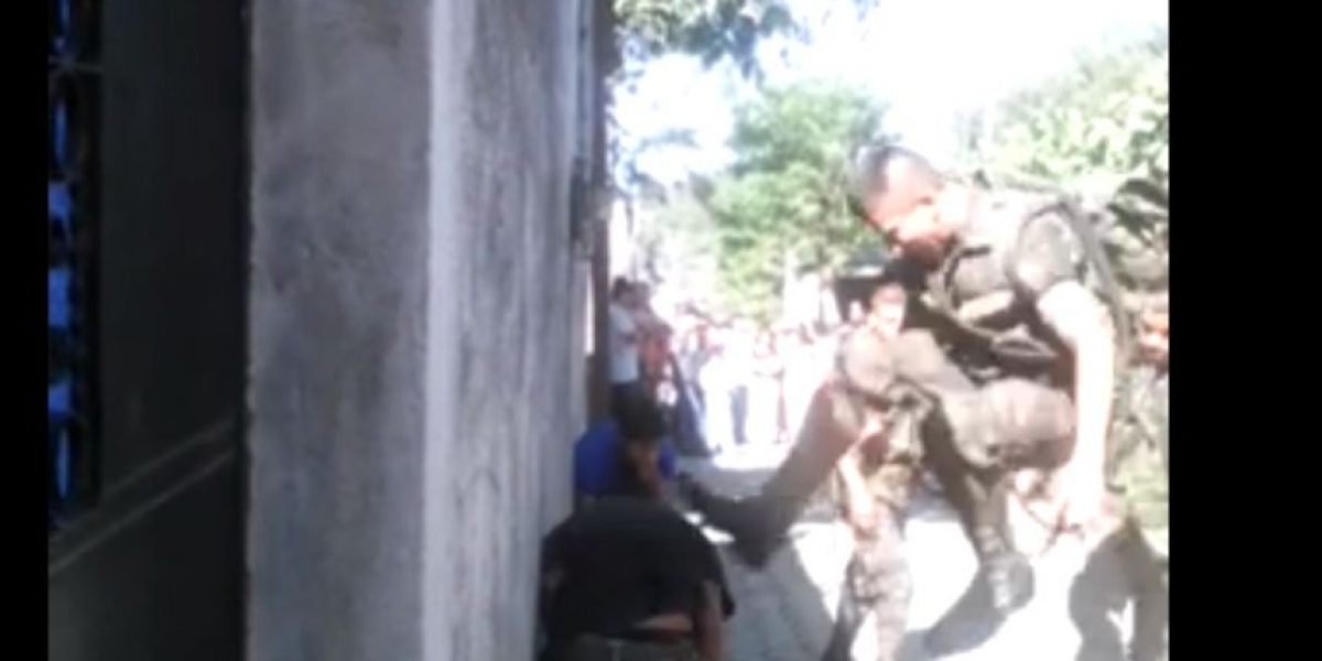 VIDEO. Caso de soldados que le propinaron una golpiza a dos adolescentes será investigado