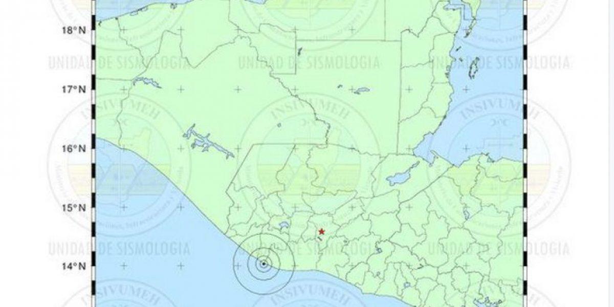 Conred en monitoreo tras sismo en Costa Sur