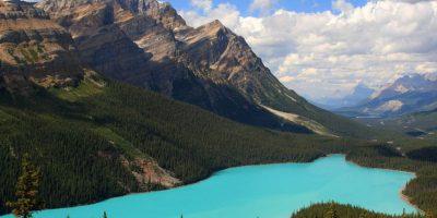 Lago Peyto, Canadá Foto:Pinterest