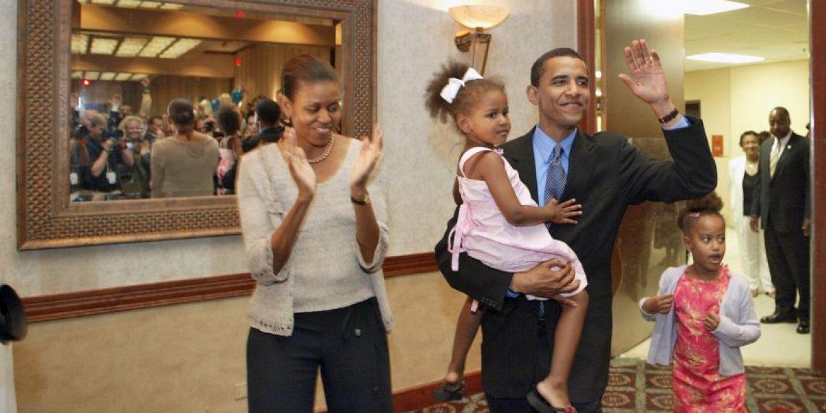 FOTOS: El antes y después de las hijas de Barack Obama
