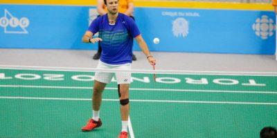 Kevin Cordón confirmó su condición como la mejor raqueta de América. Foto:Fernando Ruiz