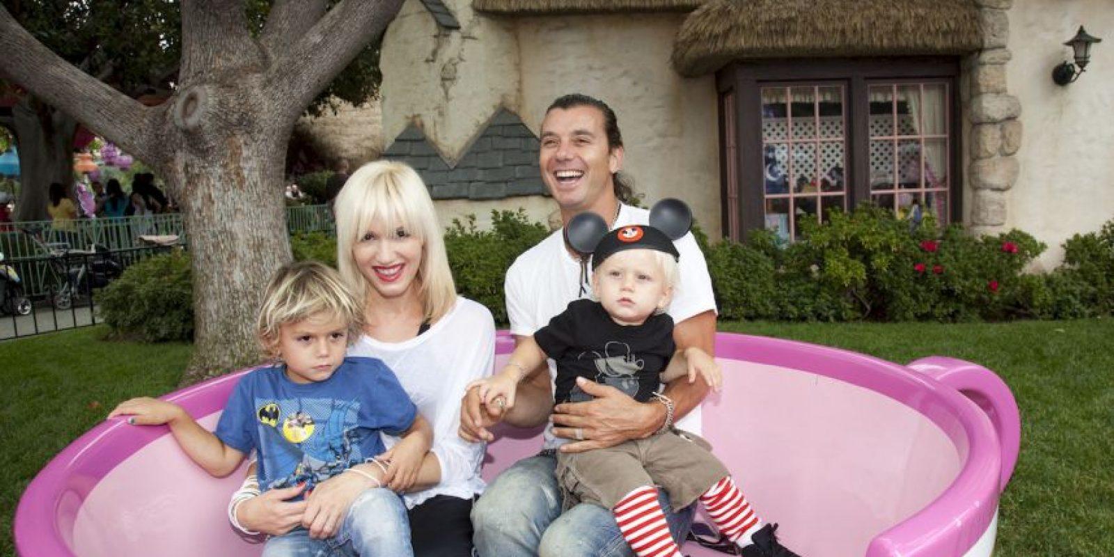 Son padres de tres hijos: Kingston, Zuma y Apollo, quien no tiene ni un año y medio de edad. Foto:Getty Images