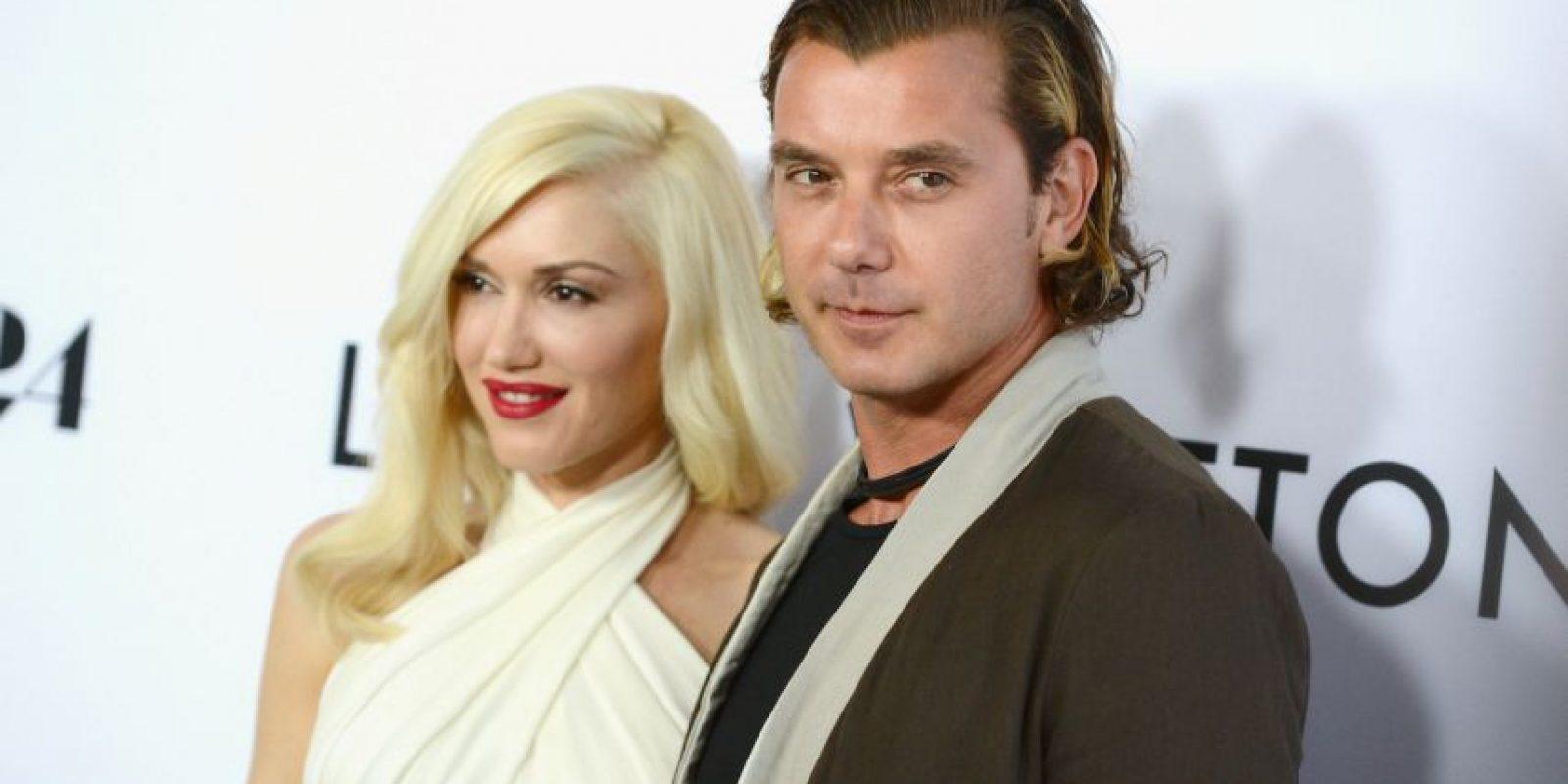 Gwen Stefani y Gavin Rossdale se casaron en 2002 en la catedral de St. Paul's en Londres. Foto:Getty Images