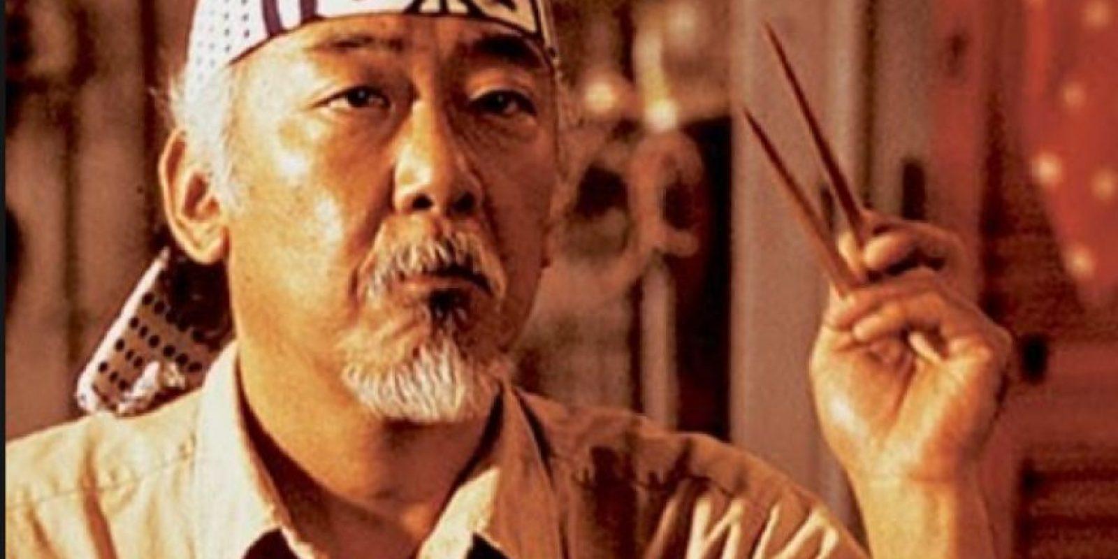 """2. Pat Morita, el """"Señor Miyagi"""" de """"Karate Kid"""", murió hace 10 años. Foto:vía Getty Images"""