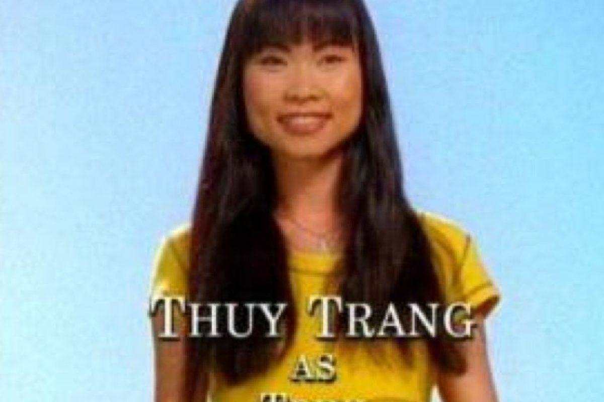 """8. Thruy Trang fue """"Trini"""" en """"Los Power Rangers"""". Foto:vía Tumblr"""