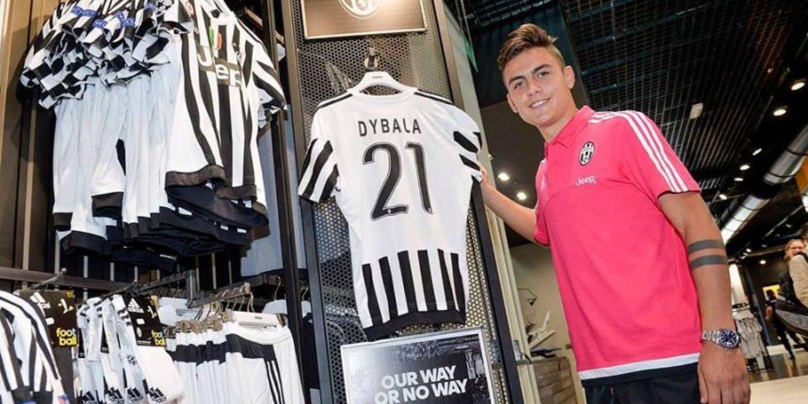 2. Paulo Dybala (Juventus) Foto:juventusfc.com