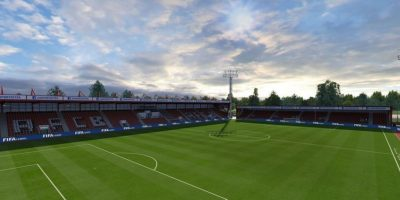 Vitality Stadium (Bournemouth, Barclays Premier League). Foto: EA Sports