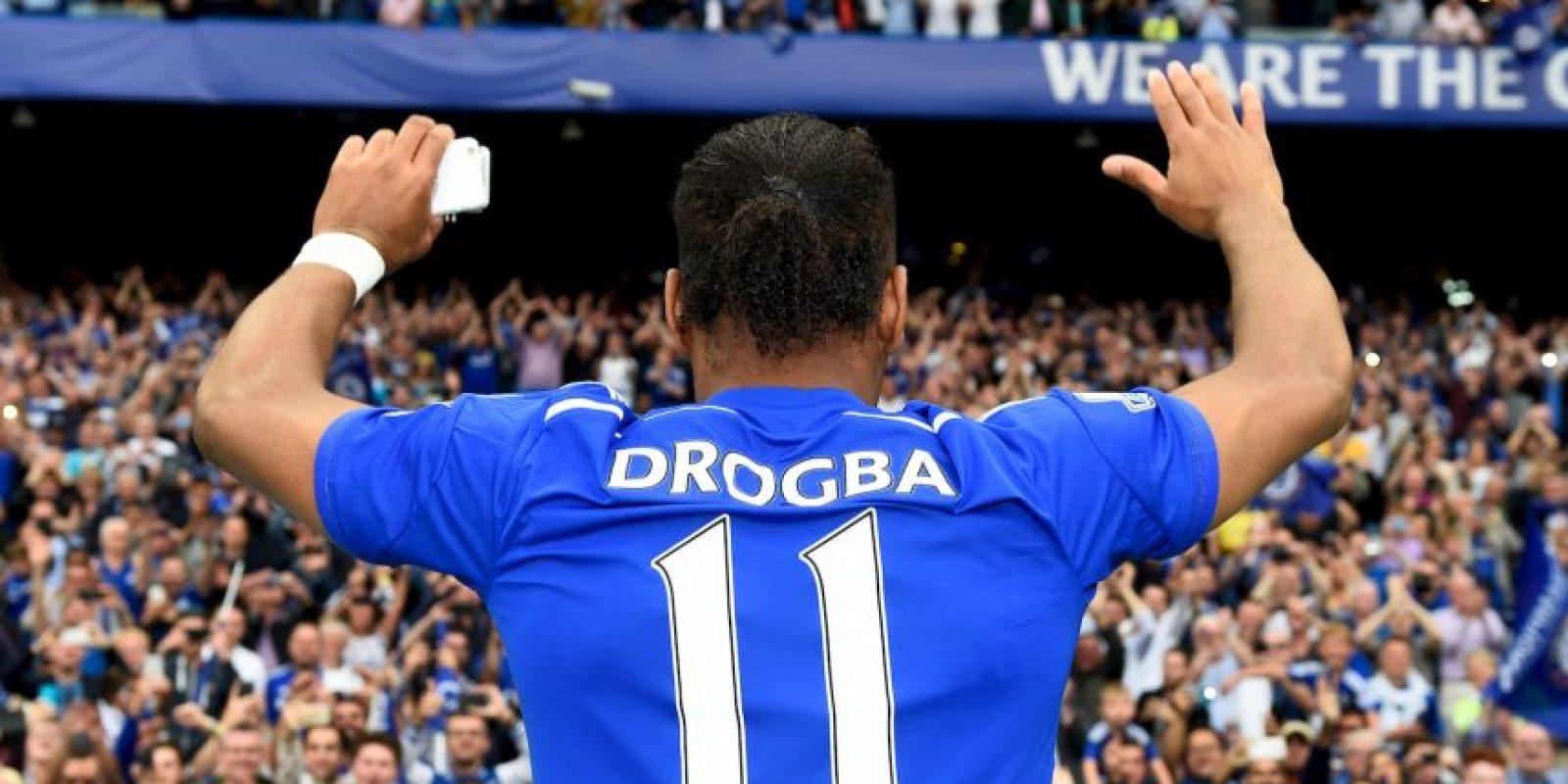 A partir de esta temporada, el colombiano llevará el 11 histórico de Didier Drogba. Foto:Getty Images
