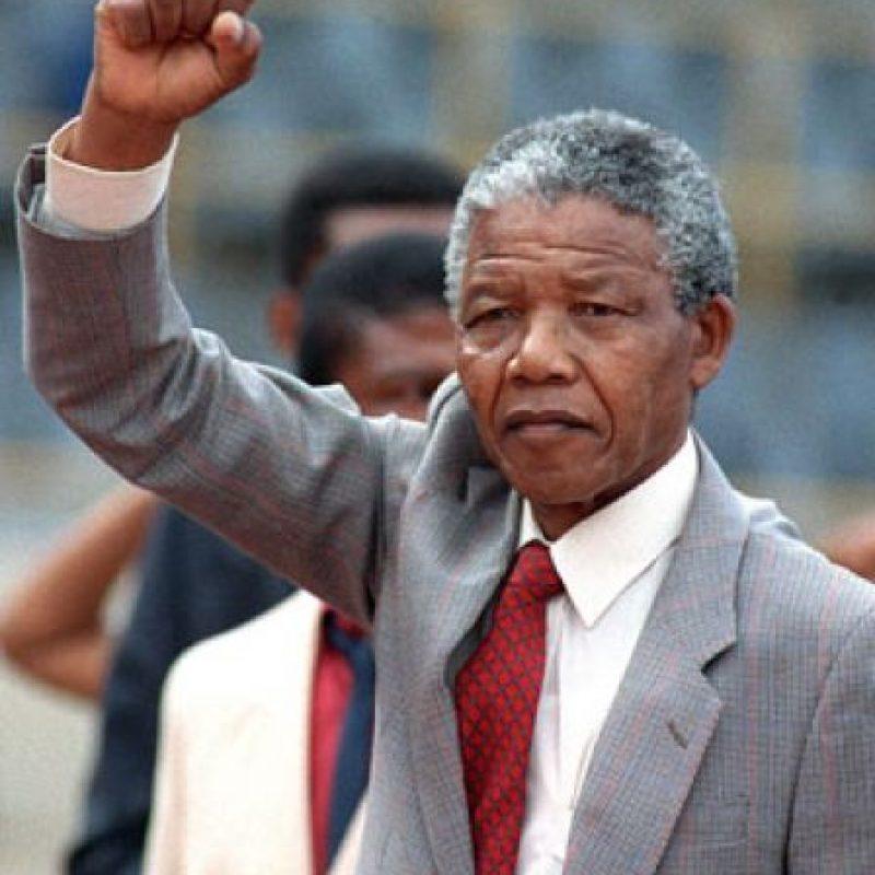 Nelson Mandela Foto:Agencias