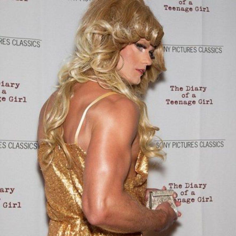 El actor no ofreció una explicación sobre su vestuario Foto:vía facebook.com/DiaryTheMovie