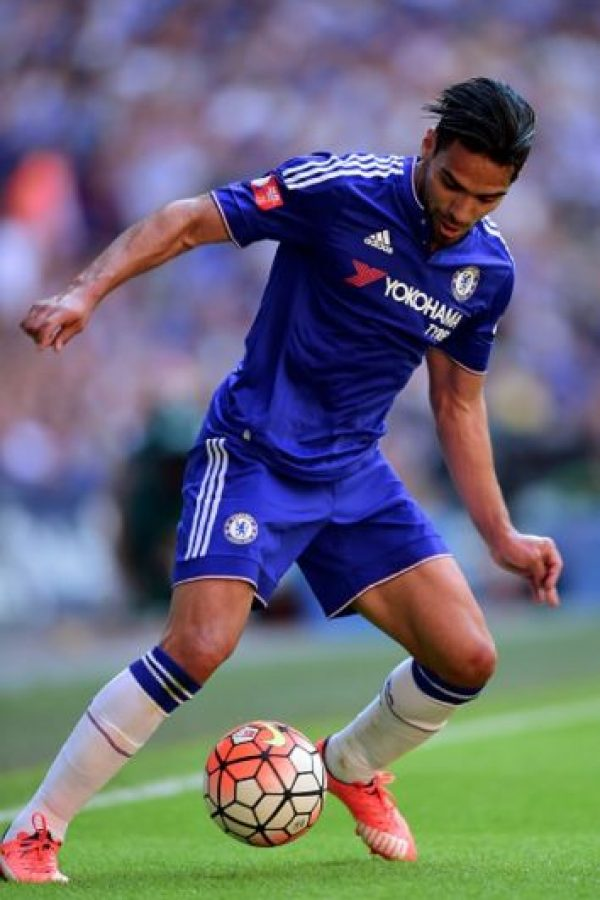 El colombiano juega en el Chelsea de Inglaterra. Foto:Getty Images