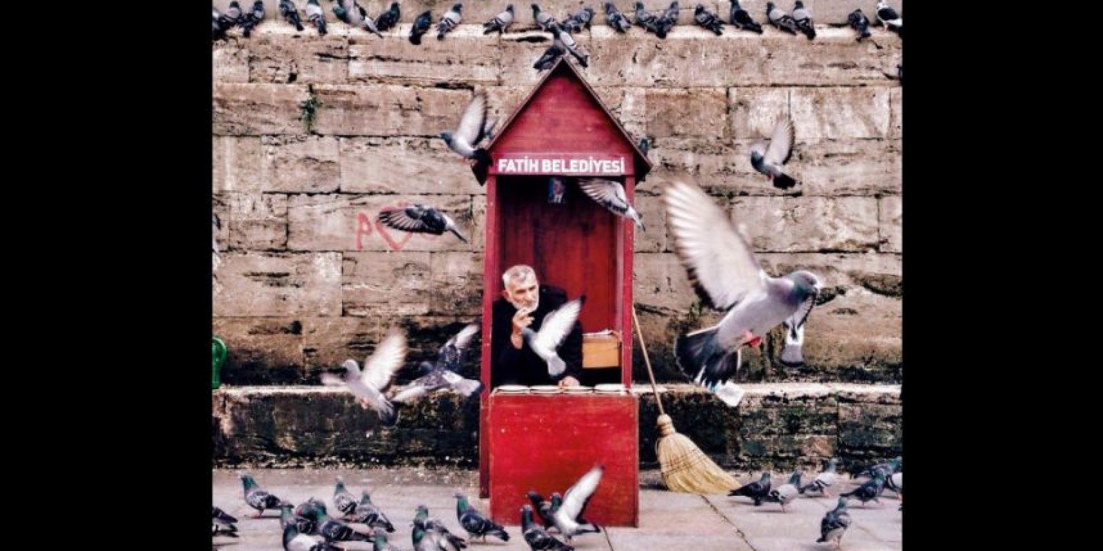 Primer lugar en la categoría Gente Foto:Song Han