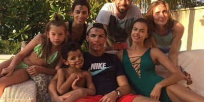Las vacaciones en familia también se disfrutan. Foto:instagram.com/cristiano