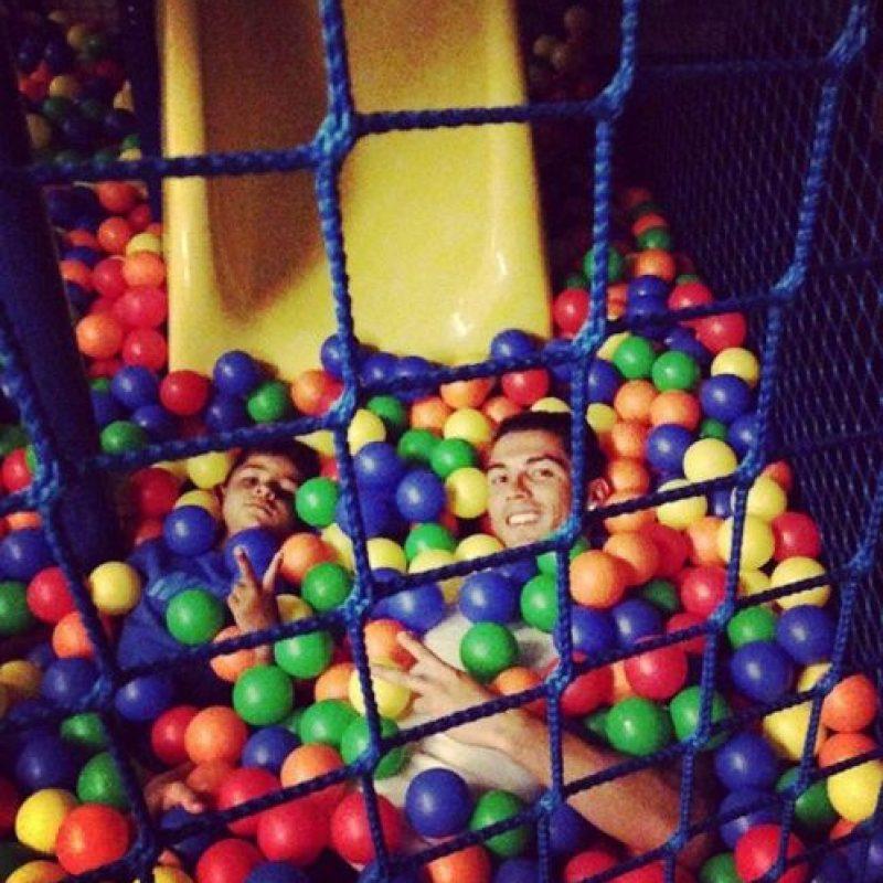 Están juntos en los momentos divertidos. Foto:instagram.com/cristiano