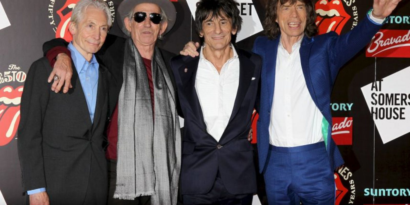 "Keith es el guitarrista de la banda de rock ""Rolling Stones"" Foto: Getty Images"