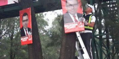 MuniGuate ha retirado al menos 700 rótulos de publicidad política