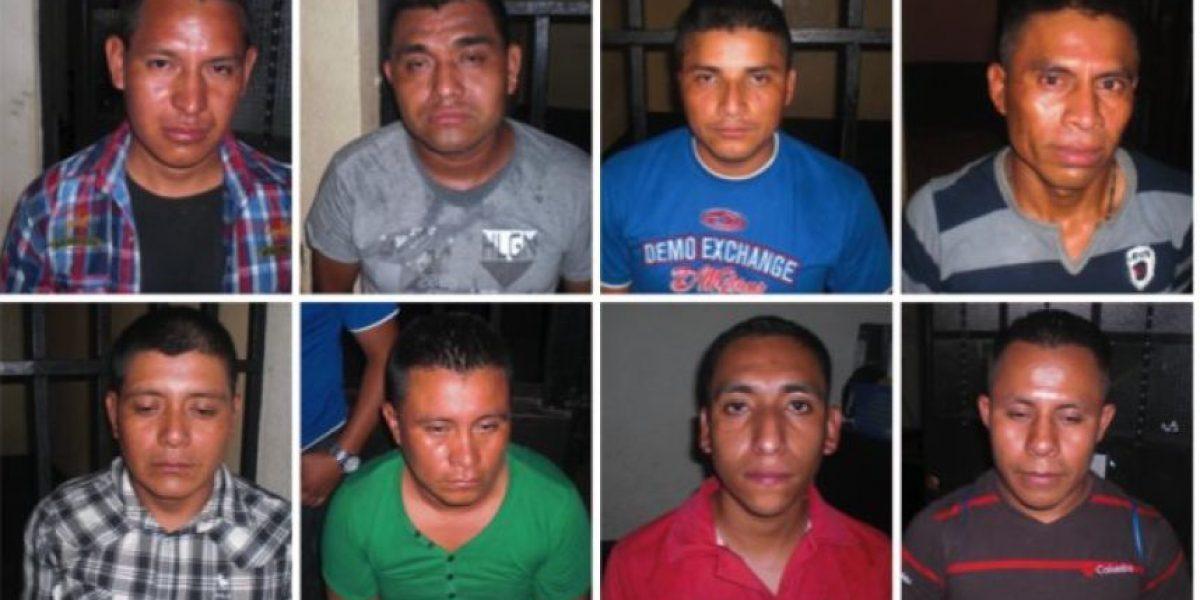 Detienen a ocho guardias por fuga de reo en Escuintla