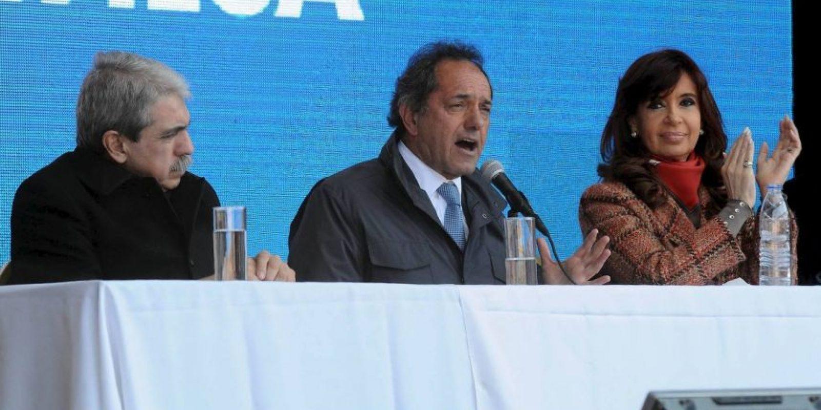También fue Vicepresidente de la República en el gobierno de Néstor Kirchner Foto:Facebook.com/danielsciolioficial